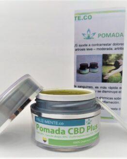 Pomada de Cannabis cbd feliz-mente-co