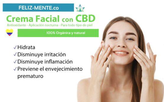 Crema facial con CBD Feliz_mente_colombia