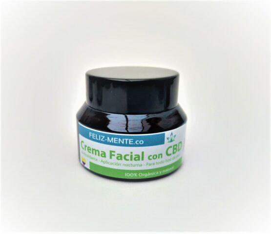 Crema facial con CBD Feliz_mente