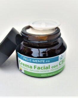 Crema facial con CBD Feliz_mente_co